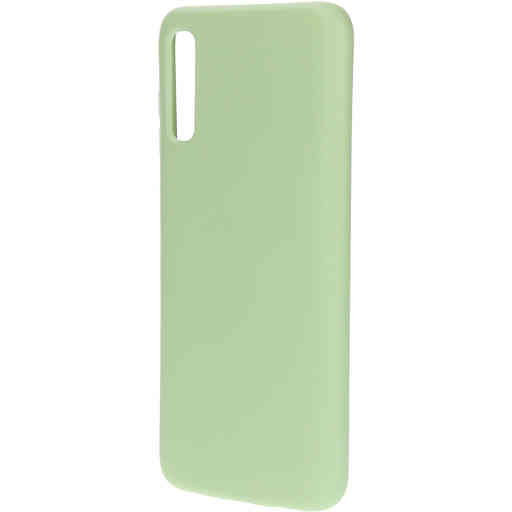 Mobiparts Silicone Cover Samsung Galaxy A70 (2019) Pistache Green