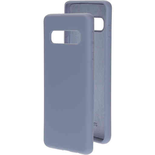 Mobiparts Silicone Cover Samsung Galaxy S10 Royal Grey