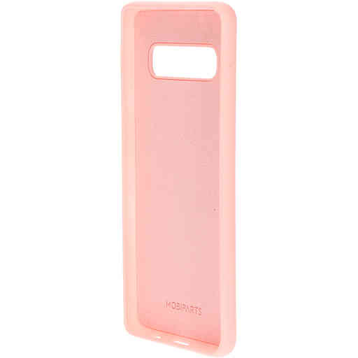 Mobiparts Silicone Cover Samsung Galaxy S10 Blossom Pink