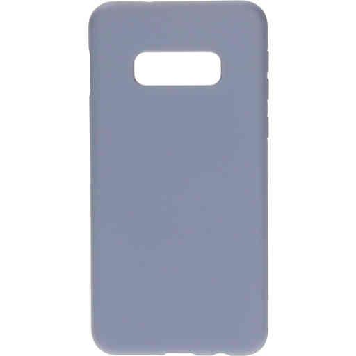 Mobiparts Silicone Cover Samsung Galaxy S10e Royal Grey