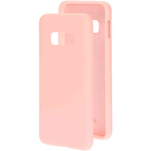 Mobiparts Silicone Cover Samsung Galaxy S10e Blossom Pink