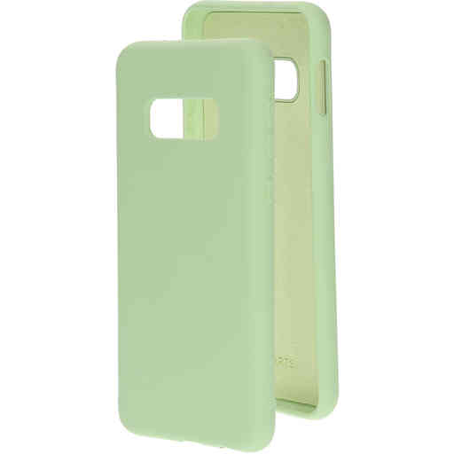 Mobiparts Silicone Cover Samsung Galaxy S10e Pistache Green