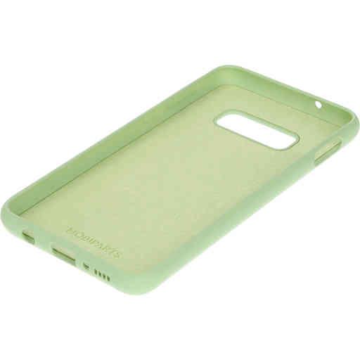 Mobiparts Silicone Cover Samsung Galaxy S10e Pistache Green