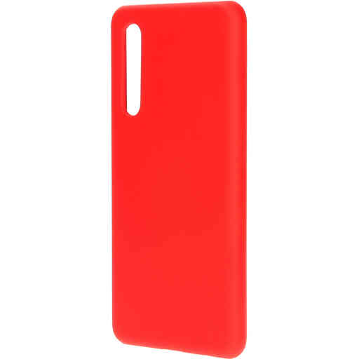 Mobiparts Silicone Cover Huawei P30 Scarlet Red