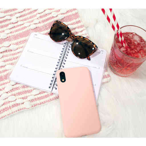 Mobiparts Silicone Cover Huawei P30 Blossom Pink
