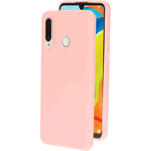 Mobiparts Silicone Cover Huawei P30 Lite Blossom Pink