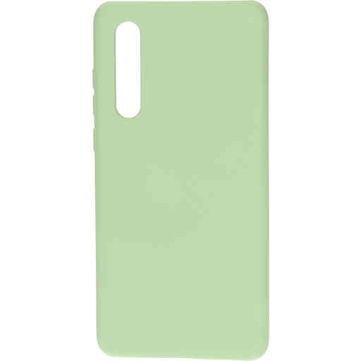 Mobiparts Silicone Cover Huawei P30 Pistache Green