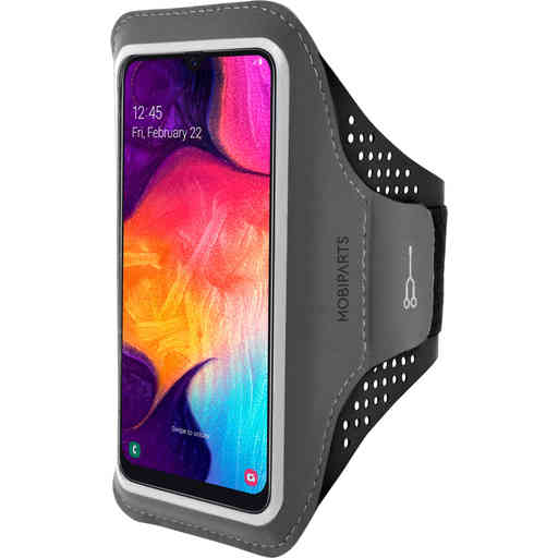 Mobiparts Comfort Fit Sport Armband Samsung Galaxy A40 (2019) Black