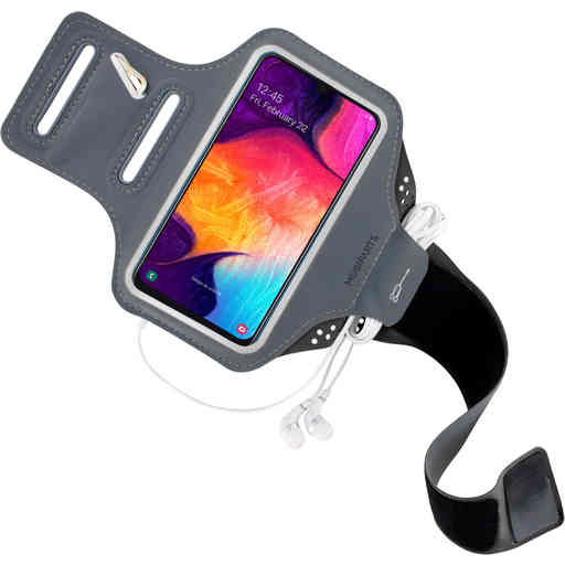 Mobiparts Comfort Fit Sport Armband Samsung Galaxy A50/A30S Black