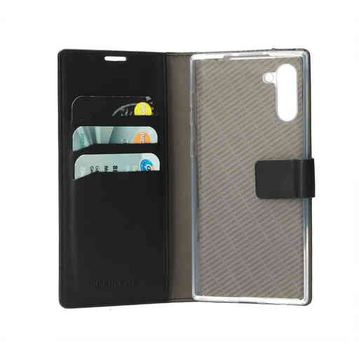 Mobiparts Classic Wallet Case Samsung Galaxy Note 10 Black