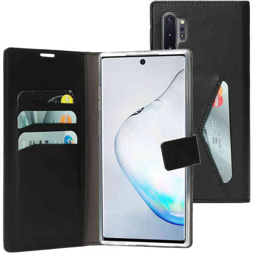 Mobiparts Classic Wallet Case Samsung Galaxy Note 10 Plus Black (Bulk)