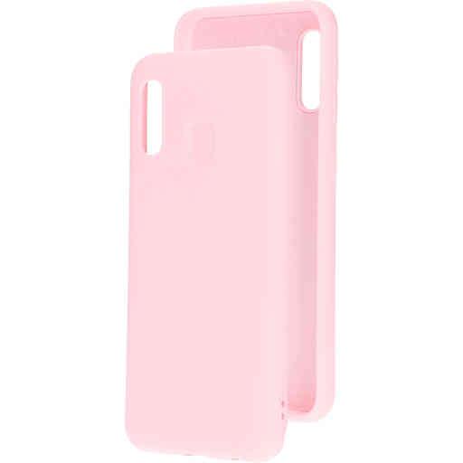 Mobiparts Silicone Cover Samsung Galaxy A20e (2019) Blossom Pink