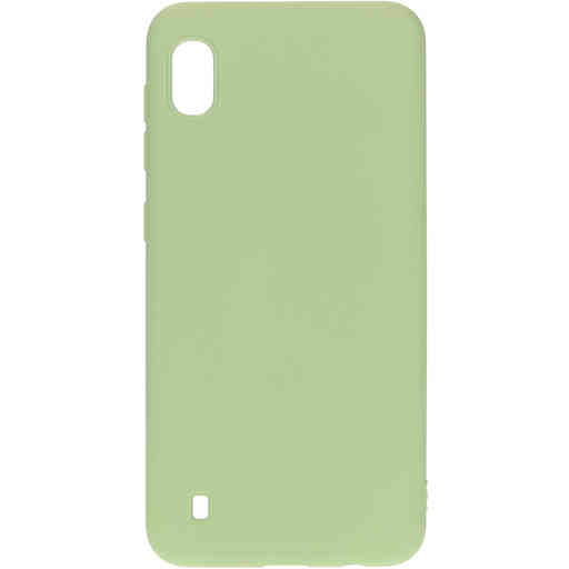 Mobiparts Silicone Cover Samsung Galaxy A10 (2019) Pistache Green