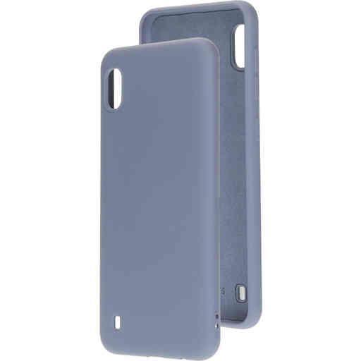 Mobiparts Silicone Cover Samsung Galaxy A10 (2019) Royal Grey