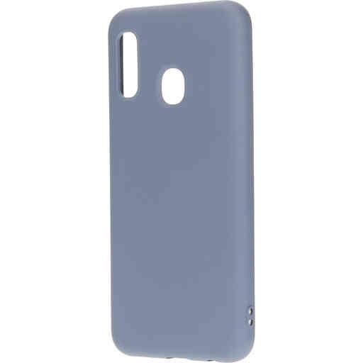 Mobiparts Silicone Cover Samsung Galaxy A20e (2019) Royal Grey