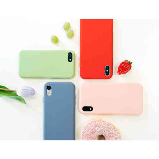 Mobiparts Silicone Cover Samsung Galaxy A10 (2019) Scarlet Red
