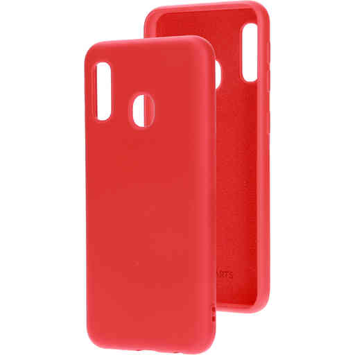 Mobiparts Silicone Cover Samsung Galaxy A20e (2019) Scarlet Red