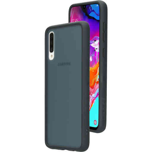 Mobiparts Classic Hardcover Samsung Galaxy A70 (2019) Grey