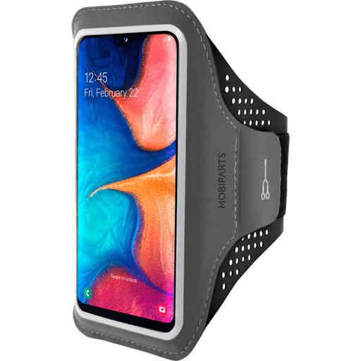 Mobiparts Comfort Fit Sport Armband Samsung Galaxy A20e (2019) Black