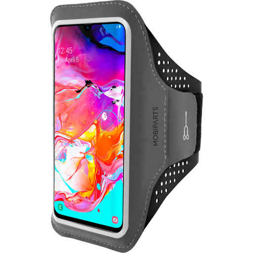 Mobiparts Comfort Fit Sport Armband Samsung Galaxy A70 (2019) Black