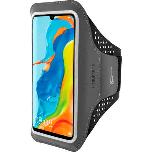 Mobiparts Comfort Fit Sport Armband Huawei P30 Lite Black