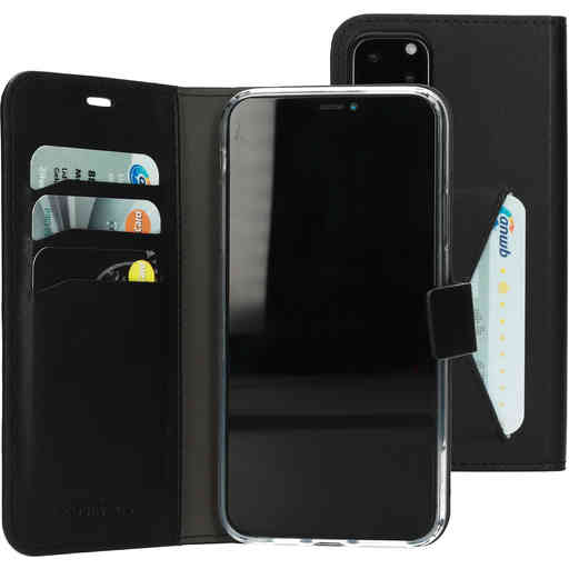 Mobiparts Classic Wallet Case Apple iPhone 11 Pro Max Black