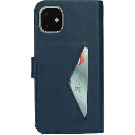Mobiparts Classic Wallet Case Apple iPhone 11 Blue