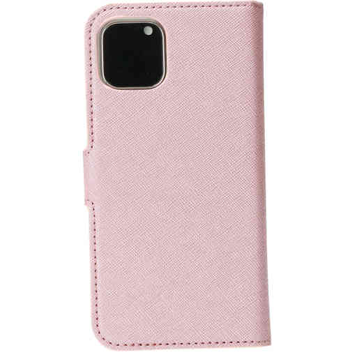 Mobiparts Saffiano Wallet Case Apple iPhone 11 Pro Pink