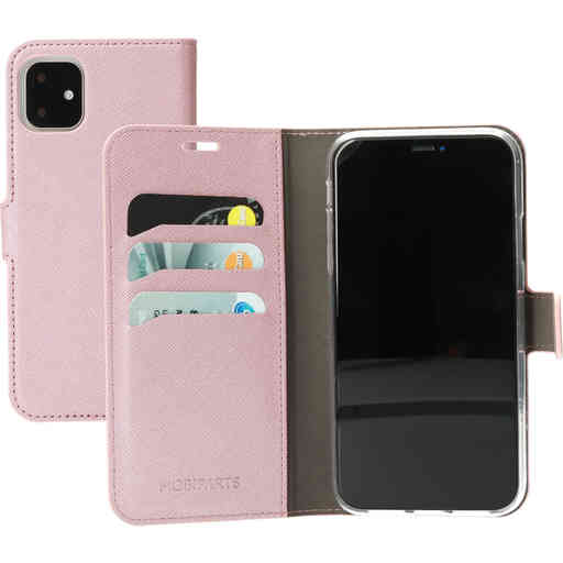 Mobiparts Saffiano Wallet Case Apple iPhone 11 Pink
