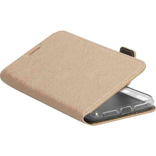 Mobiparts Saffiano Wallet Case Apple iPhone 11 Copper