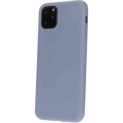 Mobiparts Silicone Cover Apple iPhone 11 Pro Royal Grey