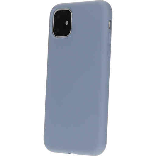 Mobiparts Silicone Cover Apple iPhone 11 Royal Grey