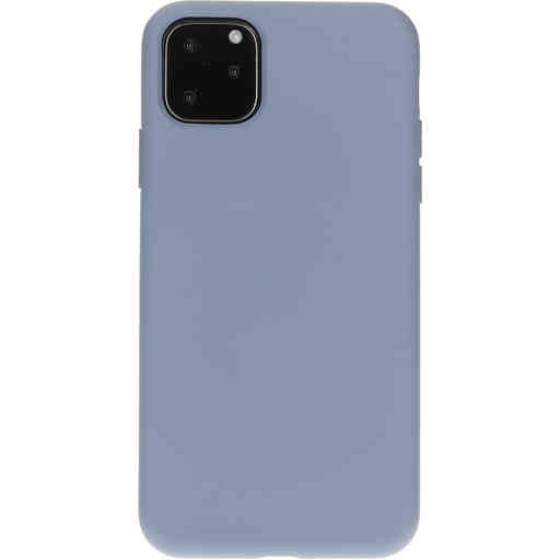 Mobiparts Silicone Cover Apple iPhone 11 Pro Max Royal Grey