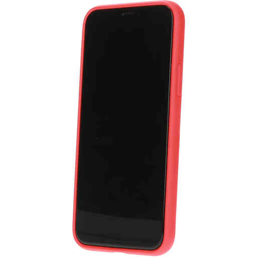 Mobiparts Silicone Cover Apple iPhone 11 Pro Scarlet Red