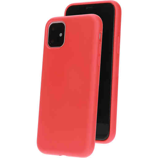 Mobiparts Silicone Cover Apple iPhone 11 Scarlet Red