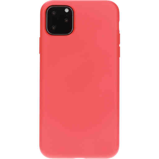 Mobiparts Silicone Cover Apple iPhone 11 Pro Max Scarlet Red