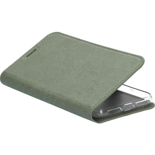 Mobiparts Classic Wallet Case Apple iPhone 11 Stone Green