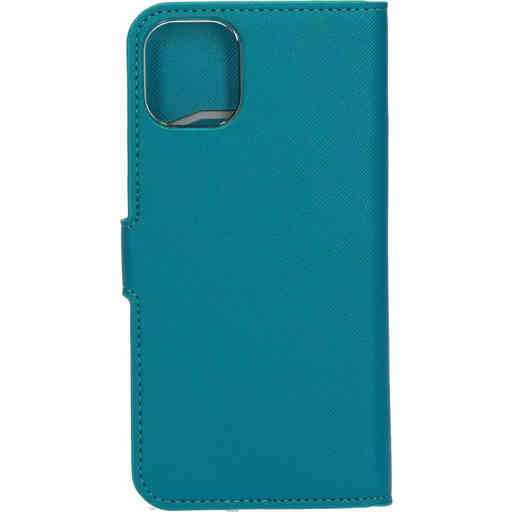 Mobiparts Saffiano Wallet Case Apple iPhone 11 Turquoise