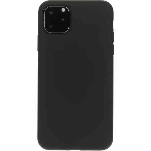 Mobiparts Silicone Cover Apple iPhone 11 Pro Max Black