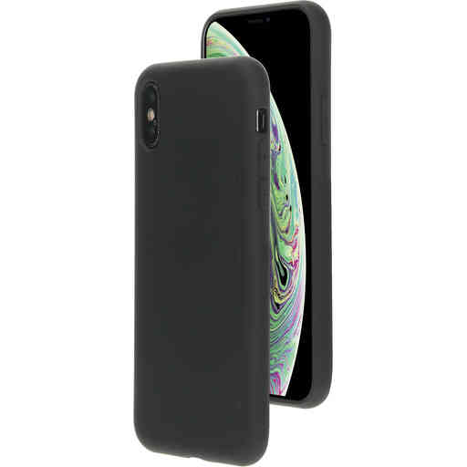 Mobiparts Silicone Cover Apple iPhone X/XS Black