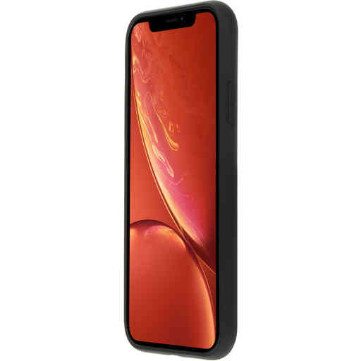 Mobiparts Silicone Cover Apple iPhone XR Black