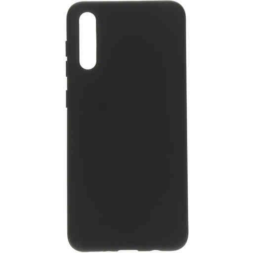 Mobiparts Silicone Cover Samsung Galaxy A50/A30S Black