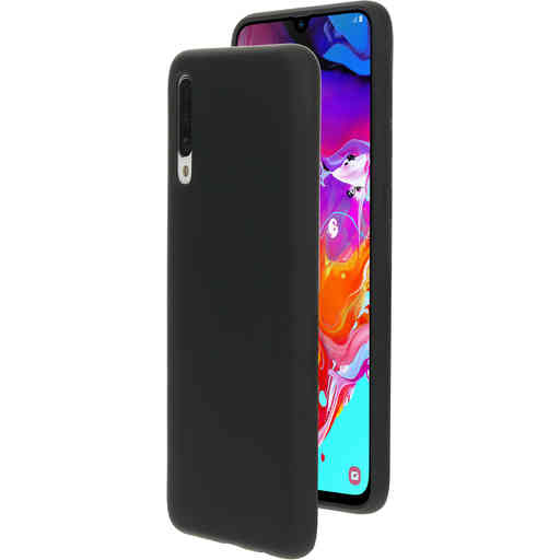 Mobiparts Silicone Cover Samsung Galaxy A70 (2019) Black